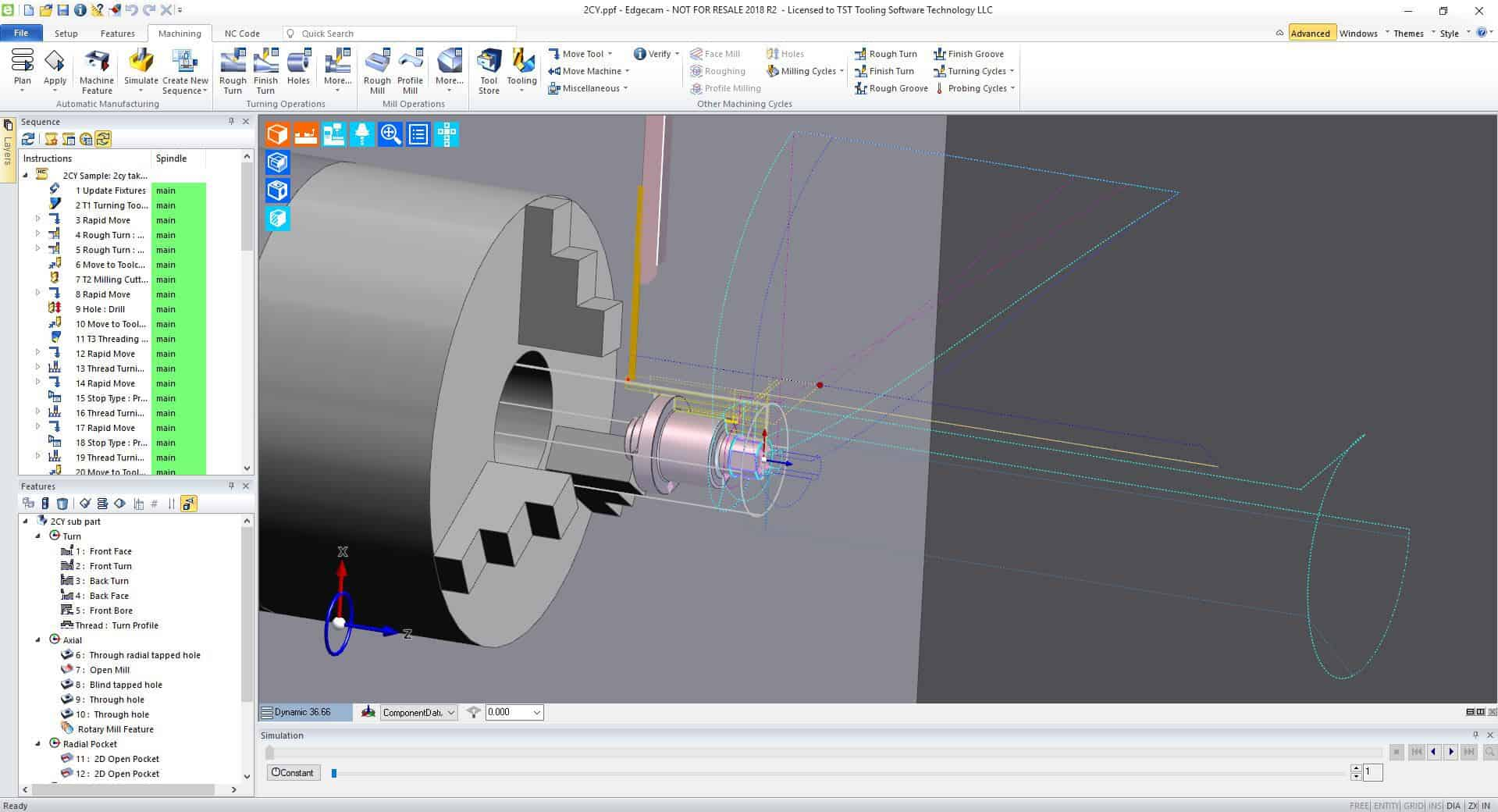 Edgecam-Lathe - TST Tooling Software Technology, LLC