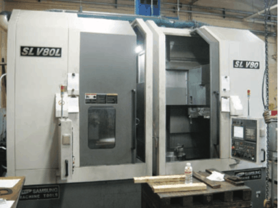 Samsung SLV80 twin spindle CNC