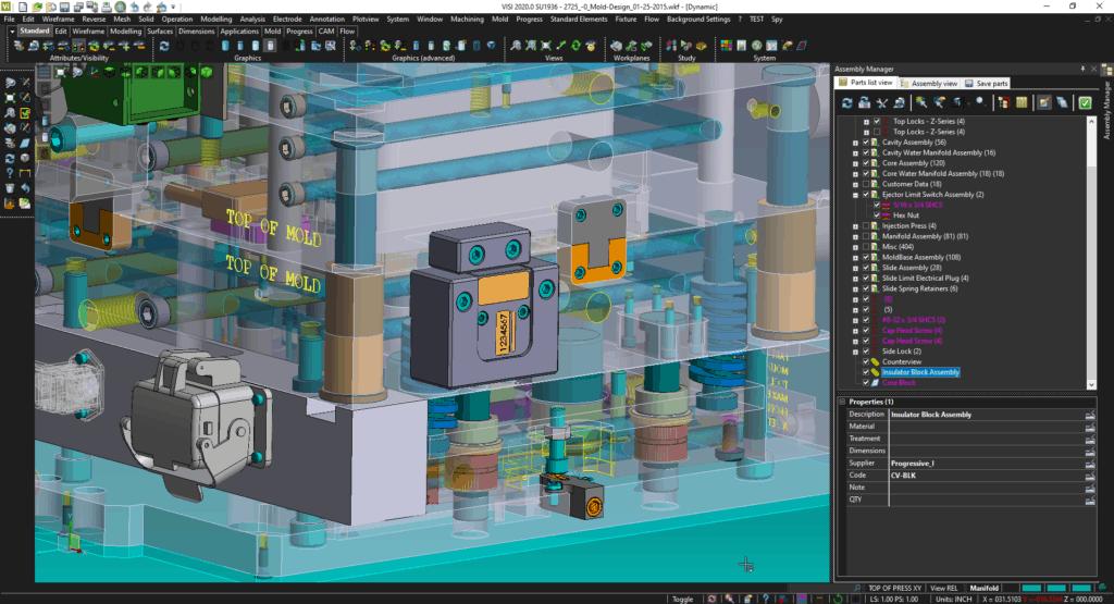 Progressive Components/VISI Mold