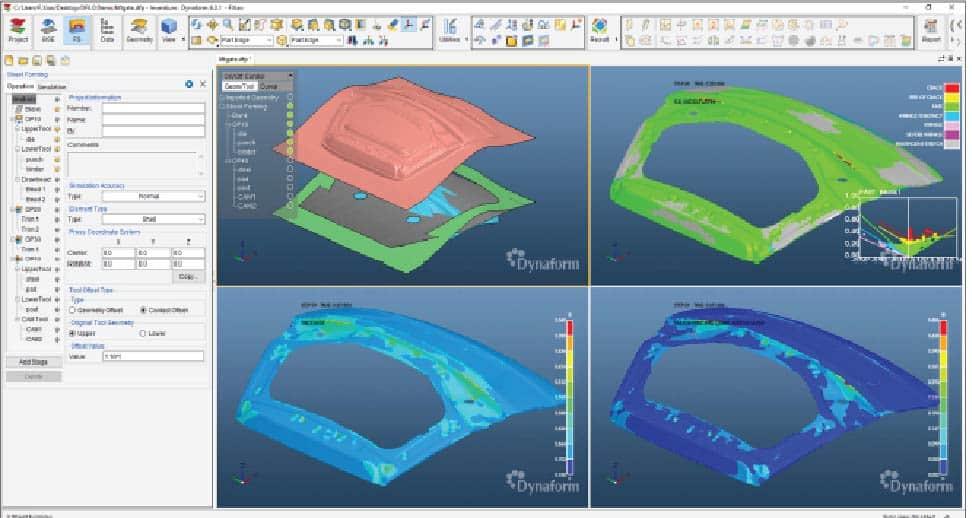 Dynaform 6.0 Single Model Simulation software